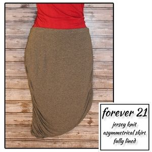 3/30 * Graphite Grey Skirt by Forever 21
